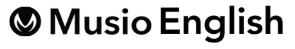 MusioEnglishのロゴ