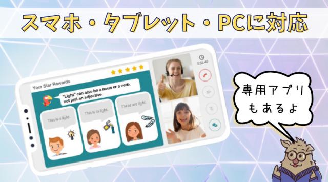 キャンブリーキッズのアプリ