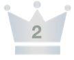 王冠 2位